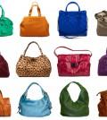 Ein Auswahl an verschiedenen Handtaschen