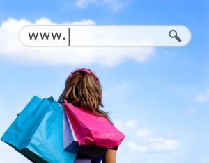 Shoppingtour im Internet
