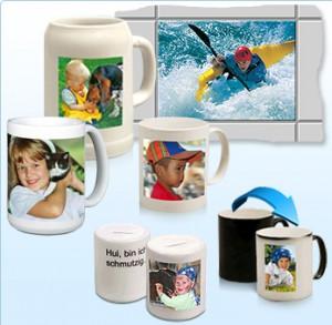 Fotos auf Porzellan