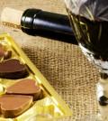 Wein und Schokolade daheim genießen