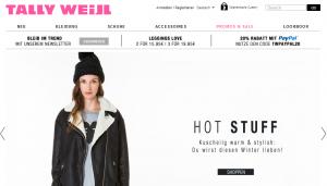 Onlineshop Tally Weijl