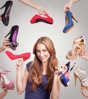modische Schuhe von Apart