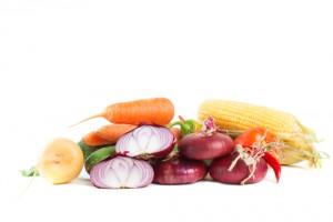 Obst und Gemüse nach Hause geliefert